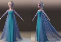Makingof & Art work Disney's Elsa from Frozen