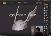 Create Edge Maps in ZBrush