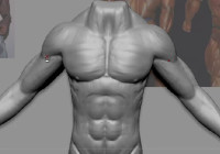How to sculpt detailed muscles with Zbrush