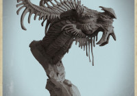 Makingof realistic dragon in zbrush