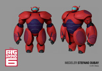 Modeling of Big Hero -6 Characters in Zbrush