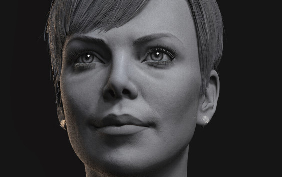 Makingof Female model Hair In Zbrush
