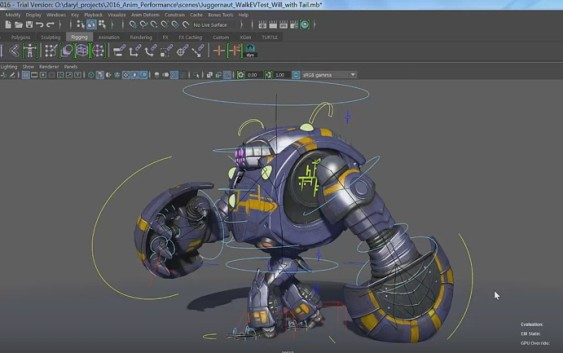 Baking Dynamics to Joints in Maya 2016