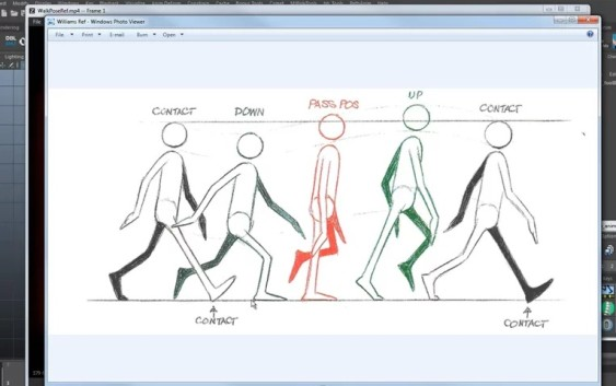 Common Mistakes When Animating Walk Cycles
