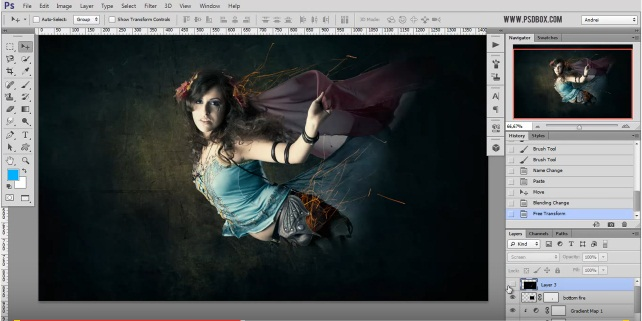 photoshop light123