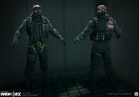 Makingof Tom Clancy's Rainbow 6  model with zbrush