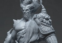Du Showwhy and Yang Qi concept art In Zbrush