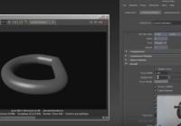 Rendering Curves  In Maya