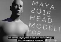 Maya HEAD MODELING Tutorial