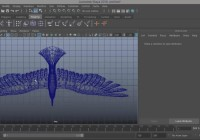 Rigging a bird with IK handles and curves