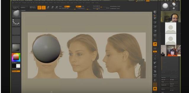 head modeling1