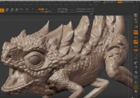 Learn how to easily exaggerate details in Zbrush