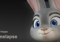 Modeling 3d character Judy Hopps in Blender