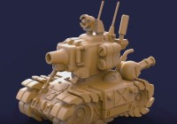 ZBrush Metal Slug Fan Art – Complete Modeling