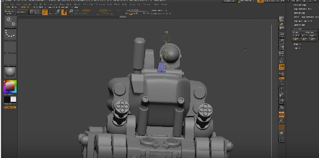 Zbrush metal slug fan art complete modeling animation for Mirror zbrush