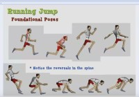 Maya tutorial- Basic Jumping and spine reversal animation