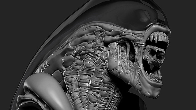 3d animation alien - 4 1