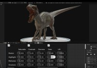How to model Indominus Rex In Blender