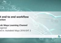 Maya tutorial- MASH end to end workflow