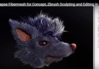 Fibermesh for Concept- zbrush tutorials