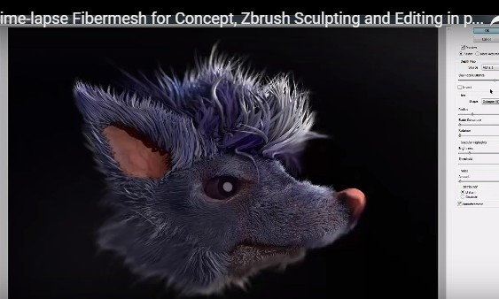 zbrush fibermesh main
