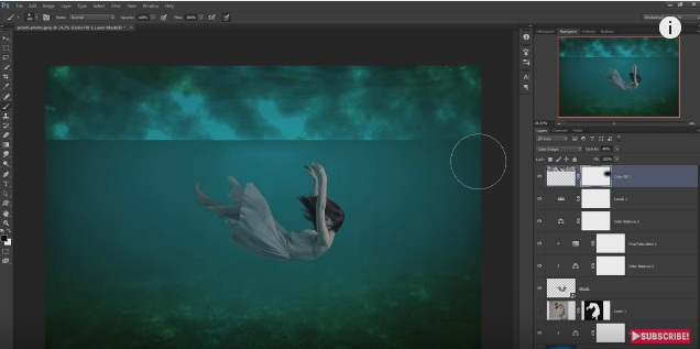 photoshop under water tutorial-3