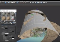 Making of Cave 3ds max tutorial