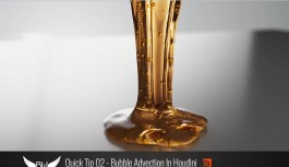 Quick Tip 02 – Bubble Advection In Houdini