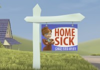 "3D Animated Short Film ""Homesick "" By Alyssa"