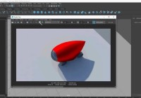 Maya- Mental Ray Applying Materials and Rendering