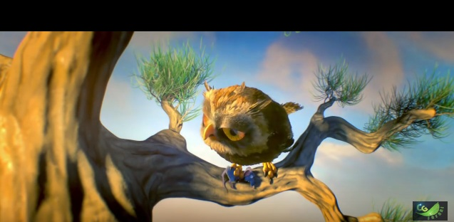 owlmost animated short film main