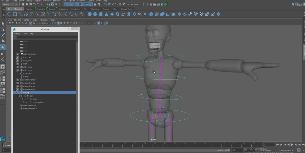 spine rig tutorials with maya