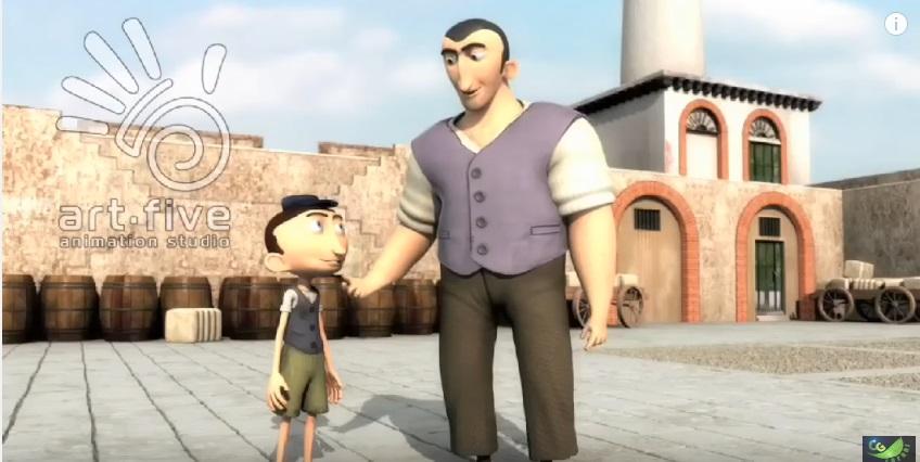 island king 3d animated short films
