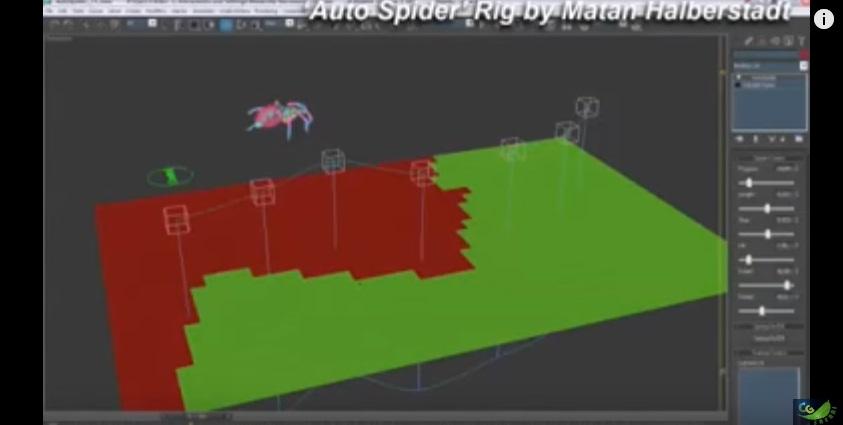 spider rig tutorial in 3d