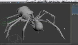 3D Spider Rig Tutorial By Matan Halberstadt