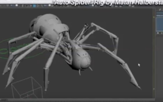 3D Spider Rig Tutorial By Matan Halberstadt