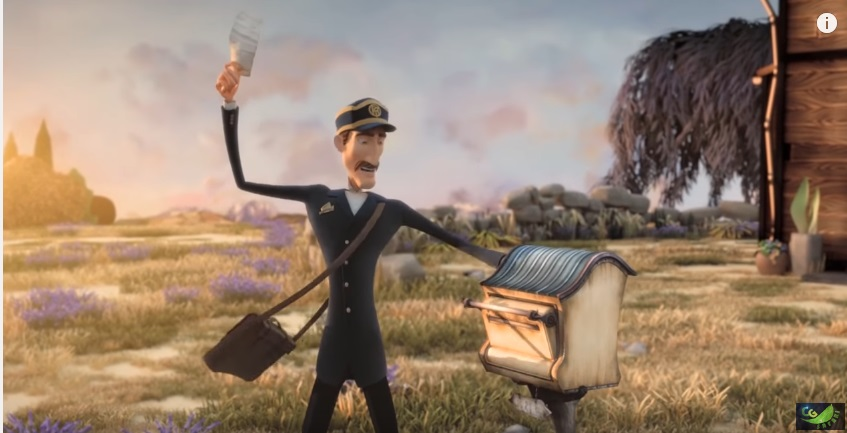 the post office 3d animated short films
