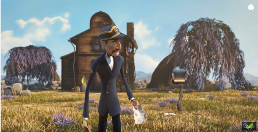 the post office 3d animated short filmss