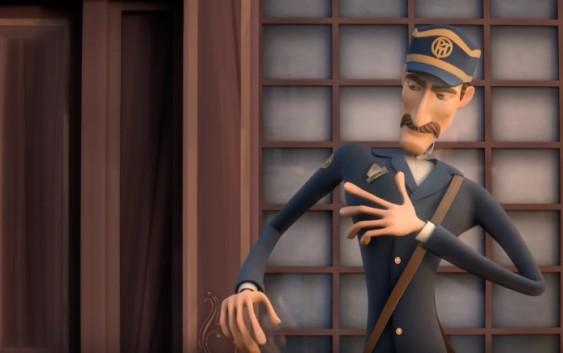 "Award Winning CGI 3D Animated Cartoon Movie "" The post office"" BY Michelle Galvante"