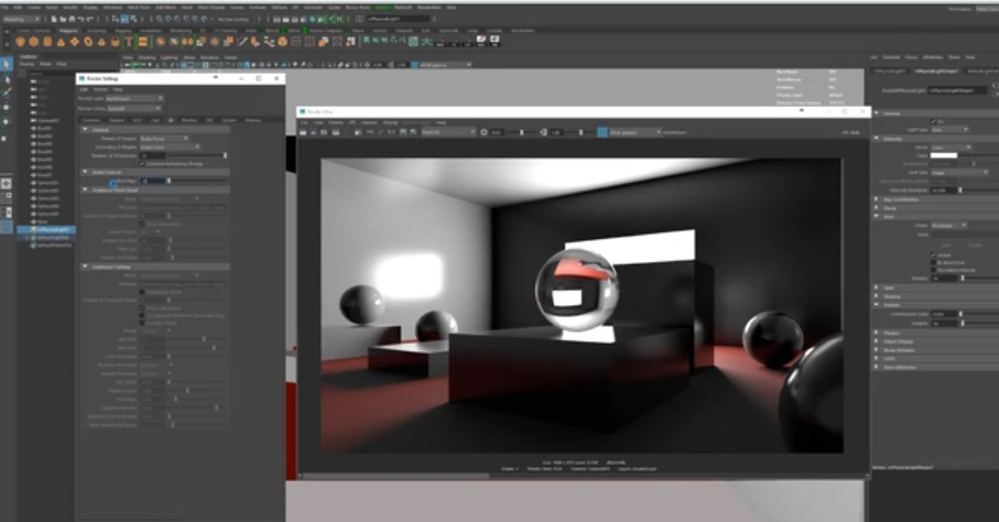redshift 2 maya tutorial in 3d animation