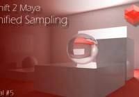 Unified Sampling & Cleaning Noise – Redshift 2 Maya – Tutorial