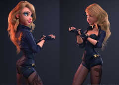 Makingof 3D Realistic Girl By  Carlos Ortega