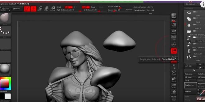 3d Realistic Models | Zbrush Tutorials | Maya Tutorials |VFX ...